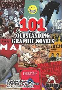 101 outstanding graphic novels cover